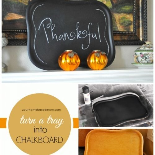Thanksgiving Menu Board