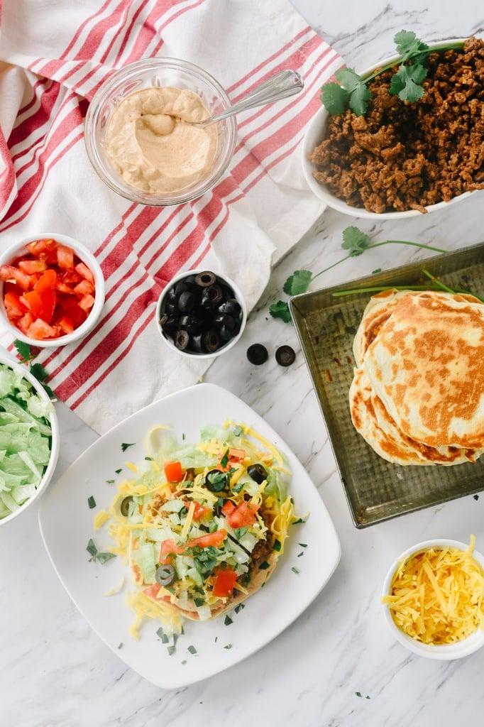 taco flatbread ingredients