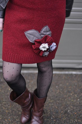 Anthropologie Inspired Sweater Skirt
