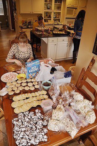Annual Cookie Baking Day