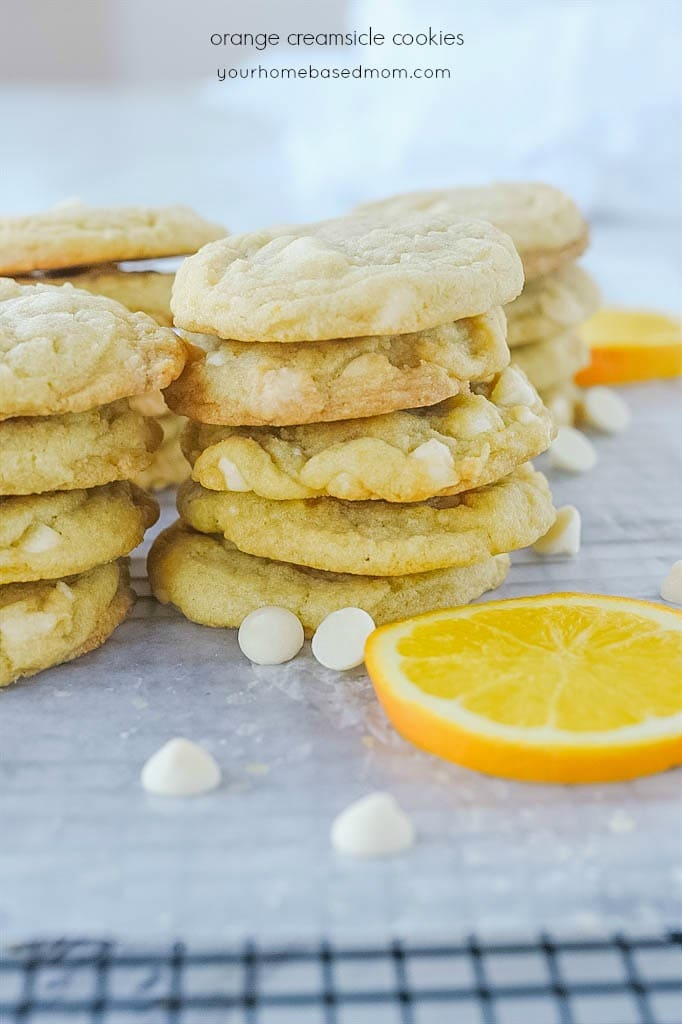 creamsicle cookies