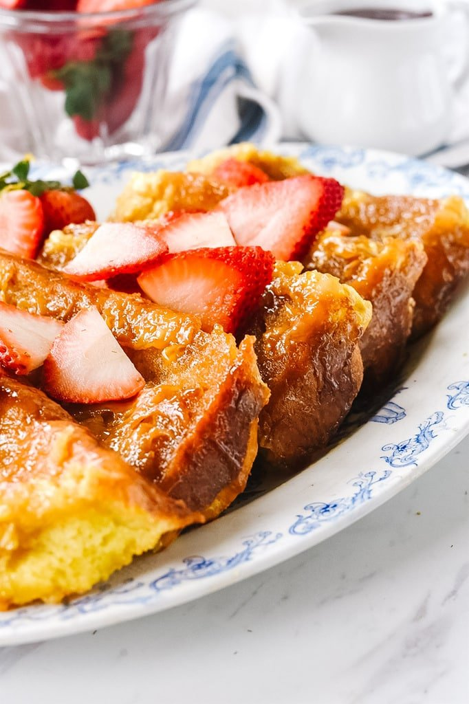 baked Creme Brulee French Toast
