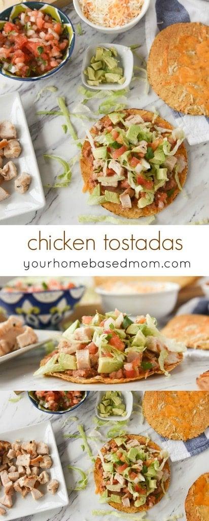 chicken tostadas
