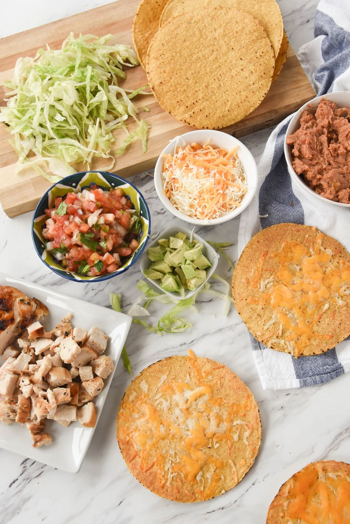 tostada ingredients