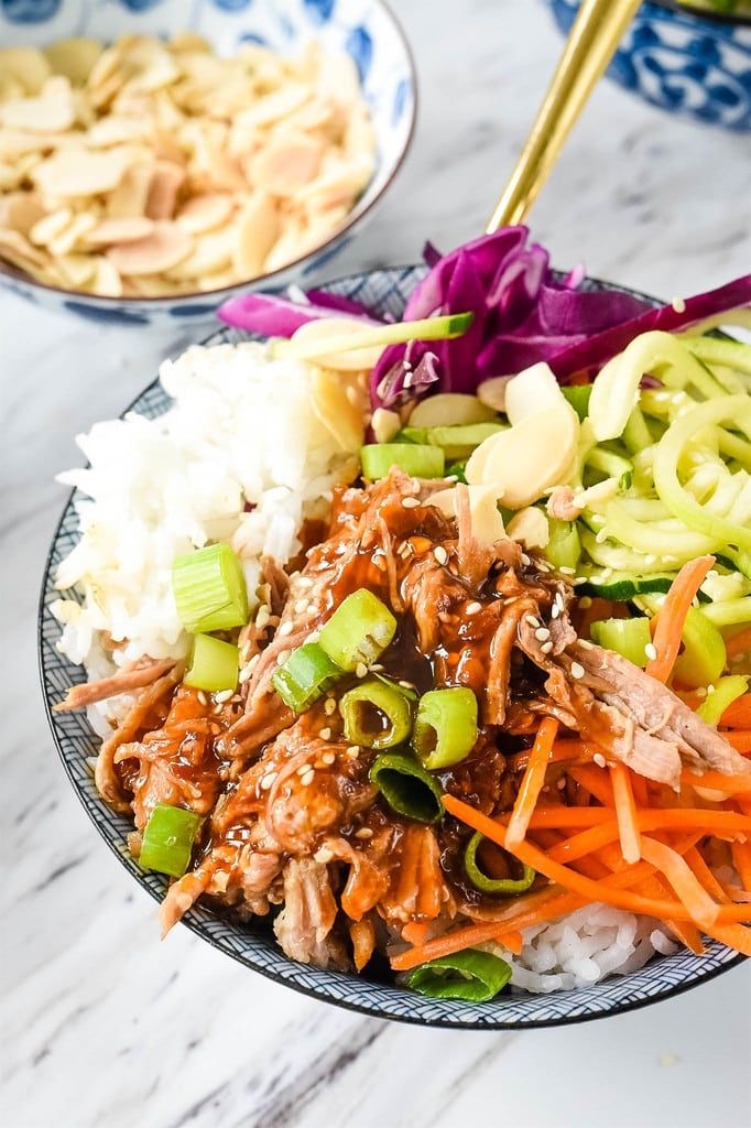 Kalua Pork Rice Bowl