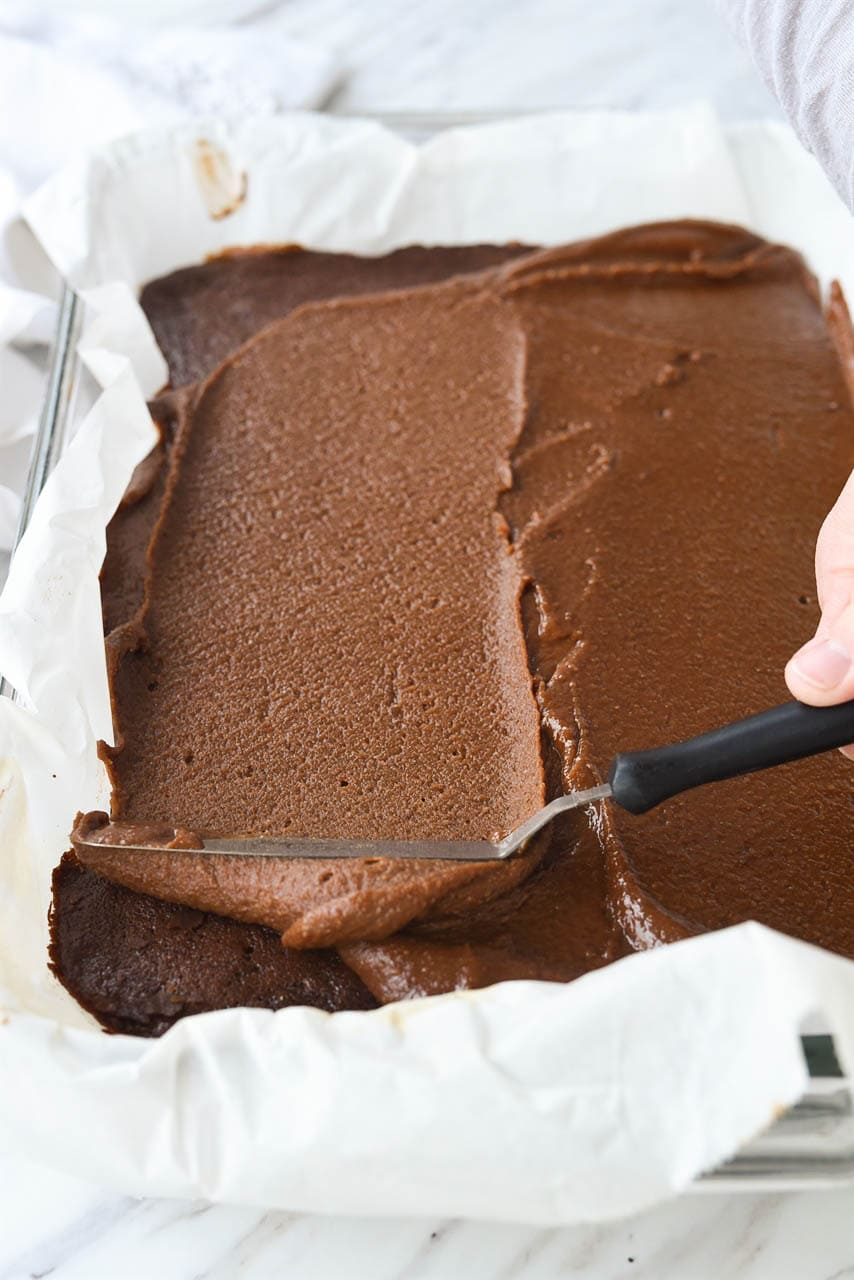 frosting brownies