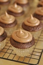 Nutella Cupcakes and Cupcake Baking Tips