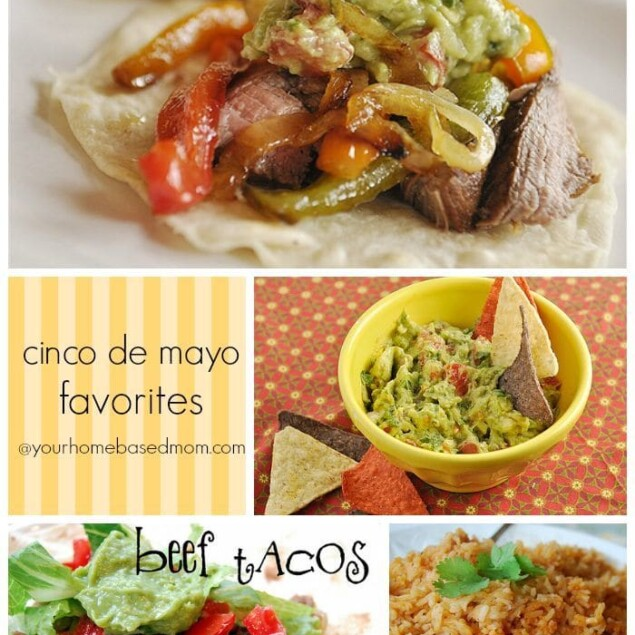 Just a quick post today to share some of my Cinco de Mayo recipes that just might come in handy for Cinco de Mayo this week