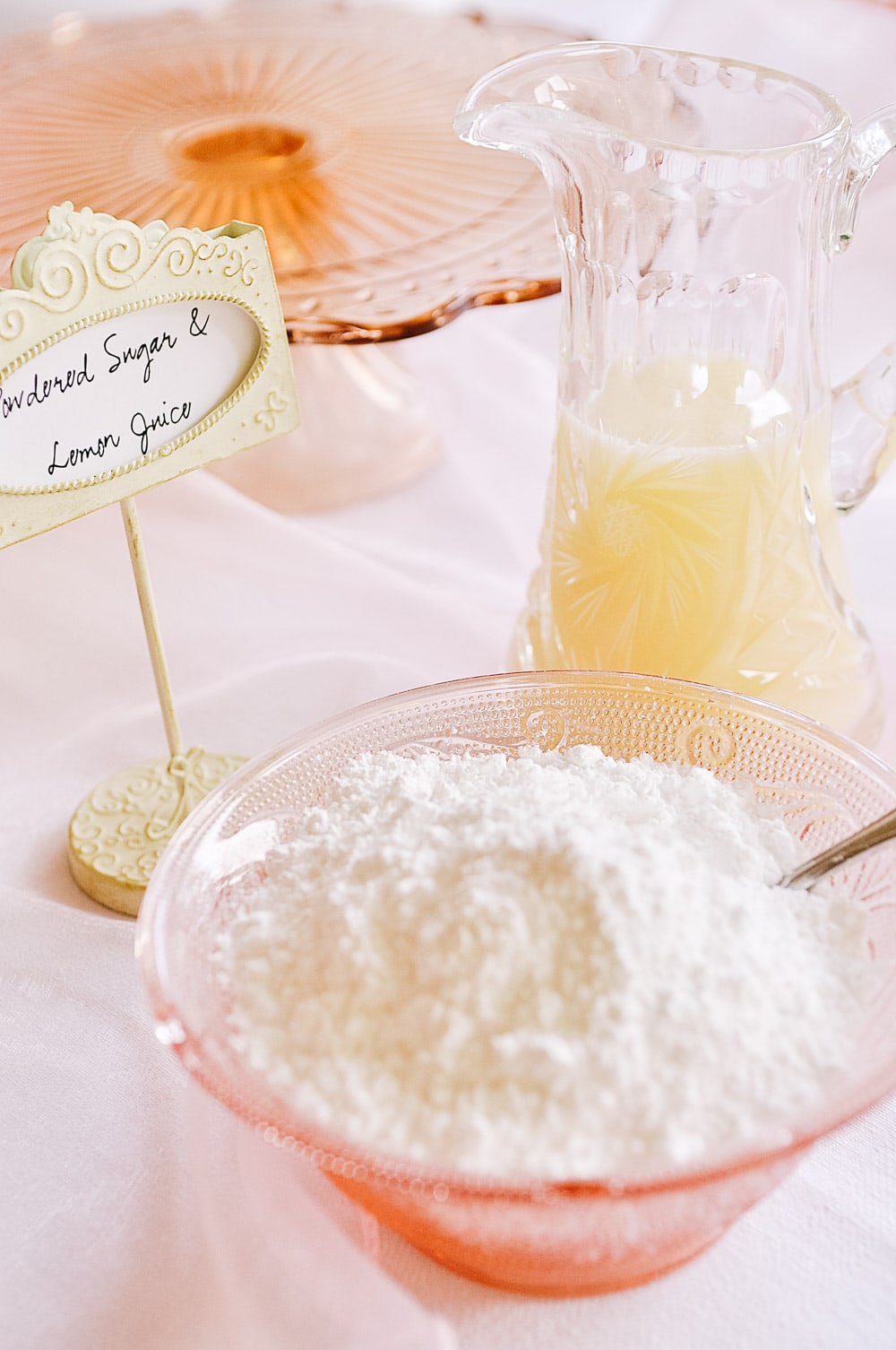 powdered sugar for crepe bar