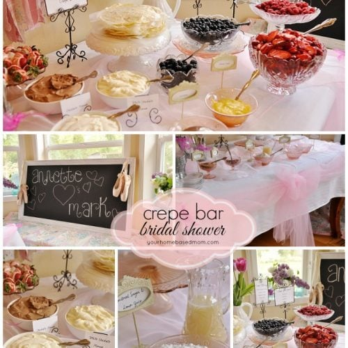 Crepe Bar Bridal Shower