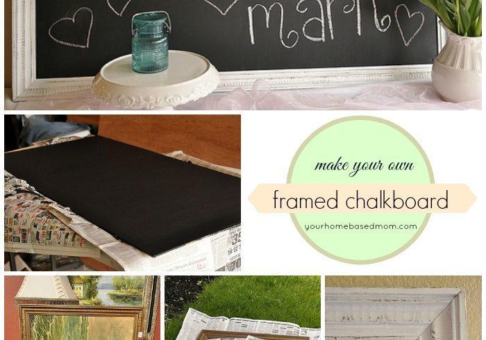 Framed Chalkboard Tutorial