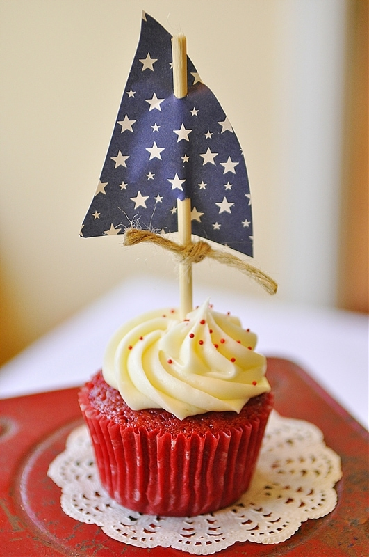 Graduation Cupcakes Sail Away Graduation Party Theme