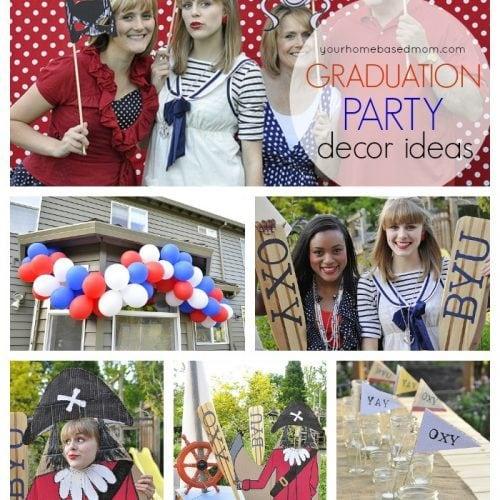 Graduation Party}The Decorations