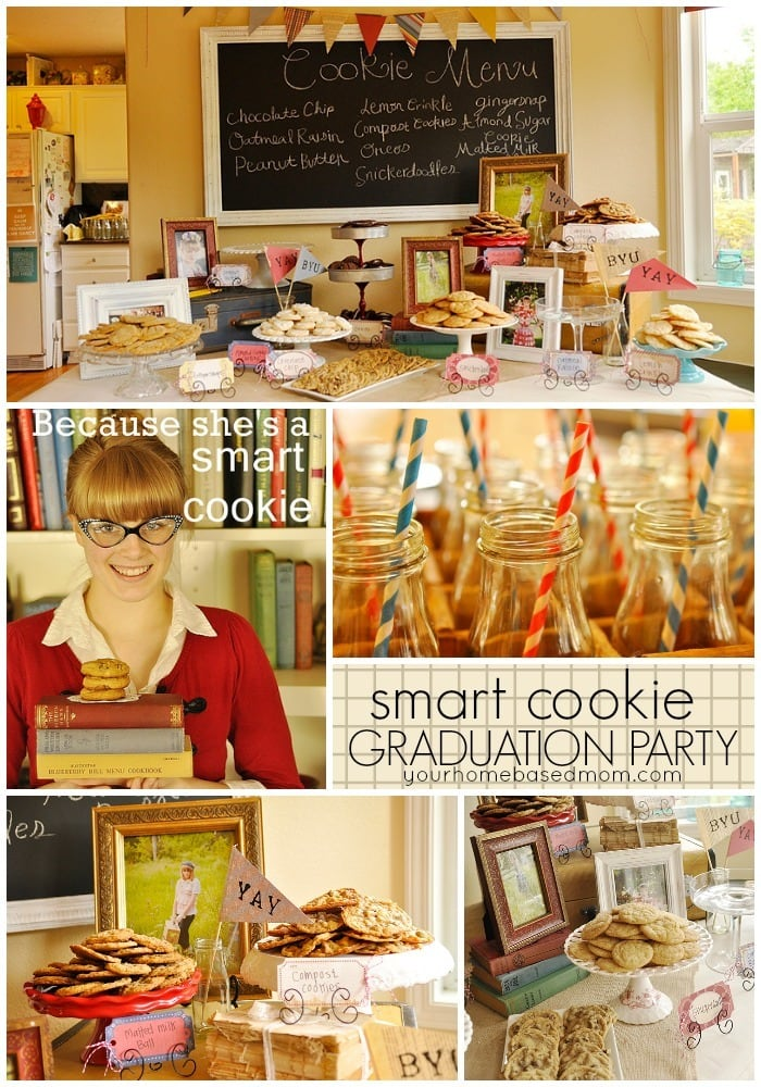 Your Smart Cookie will Love this Smart Cookie Graduation Party Theme