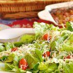 House Salad with lemon dressing