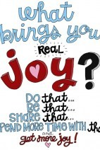 A Thought}Real Joy