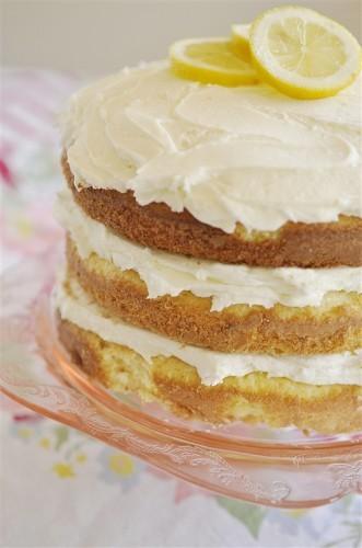 lemon butter cream cake recipe