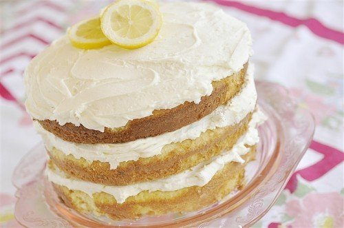 Lemon Buttercream Cake