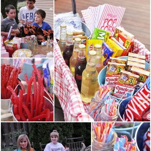 Neighborhood Movie Night and Treat Wagon
