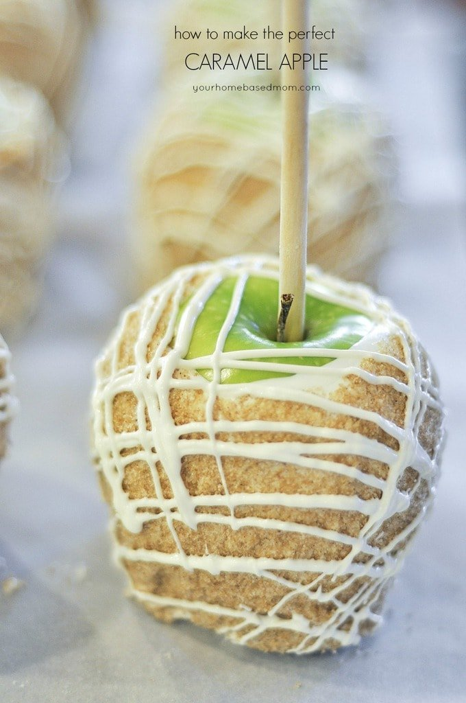 Apple Pie Caramel Apples Recipe From Your Homebased Mom