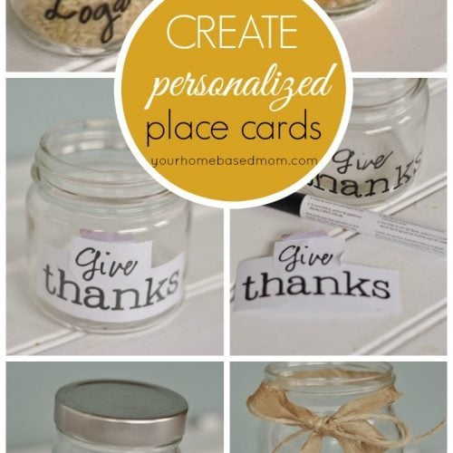 Thanksgiving Table Decor/Placecards