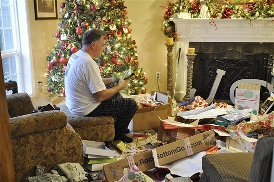 Christmas Day at our House