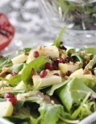 Hazelnut Pomegrante Apple Salad