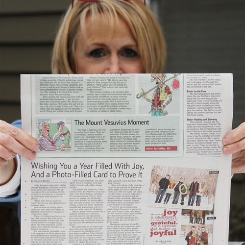 The Wall Street Journal and Me!