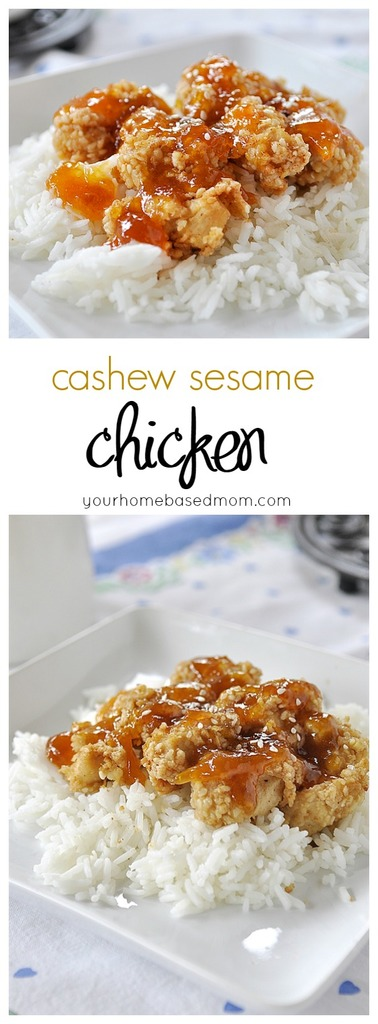 Cashew Sesame Chicken