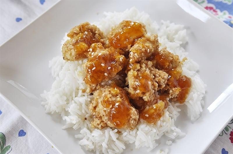 Cashew Sesame Chicken
