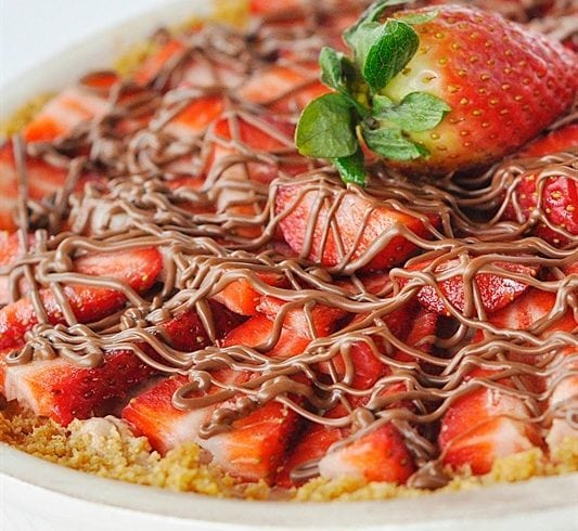 Chocolate Berry Pie