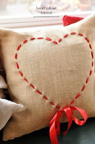 Valentine Pillow Tutorial
