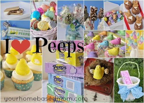 Peep Round Up @yourhomebasedmom.com