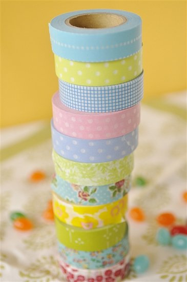 stack of washi tape