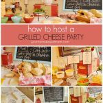 how to host a grilled cheese bar