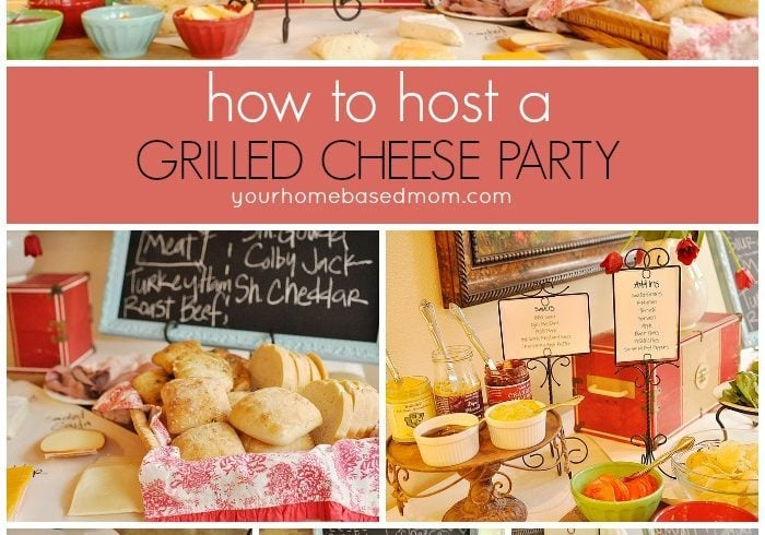 Grilled Cheese Party!