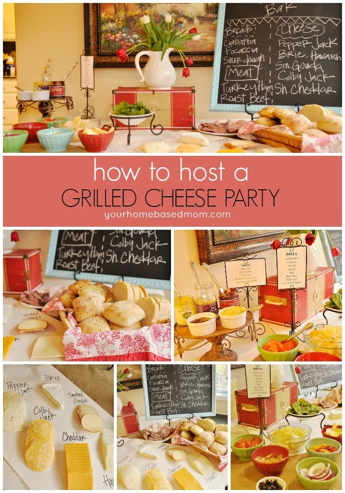 Grilled cheese party for Bash bash food bar vodice