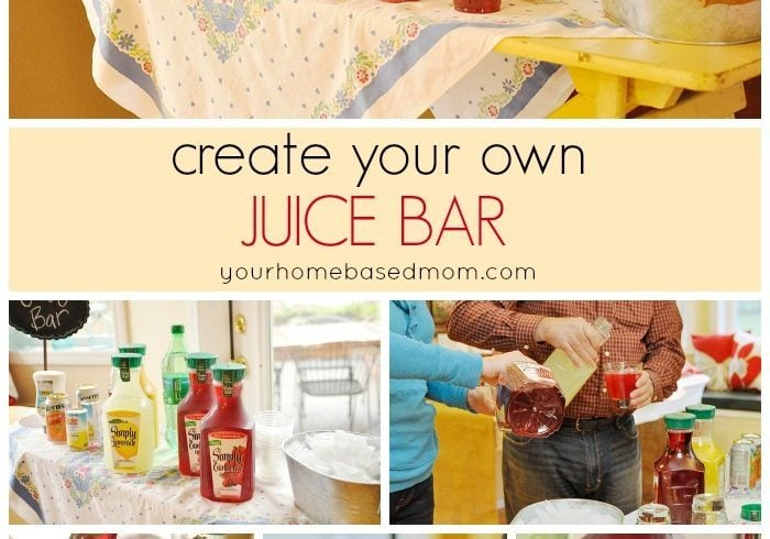 Create Your Own Juice Bar