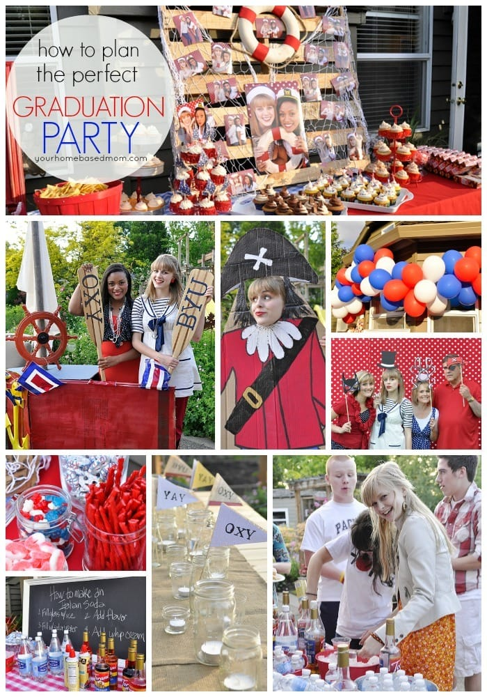Graduation Party Ideas From Your Homebased Mom