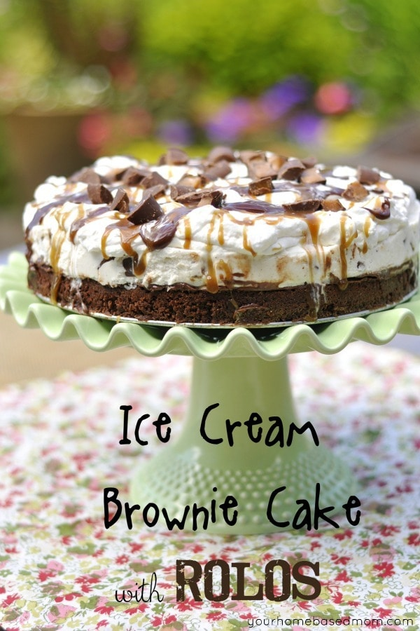 Brownie Bottom Ice Cream Cake Ice Cream Cake