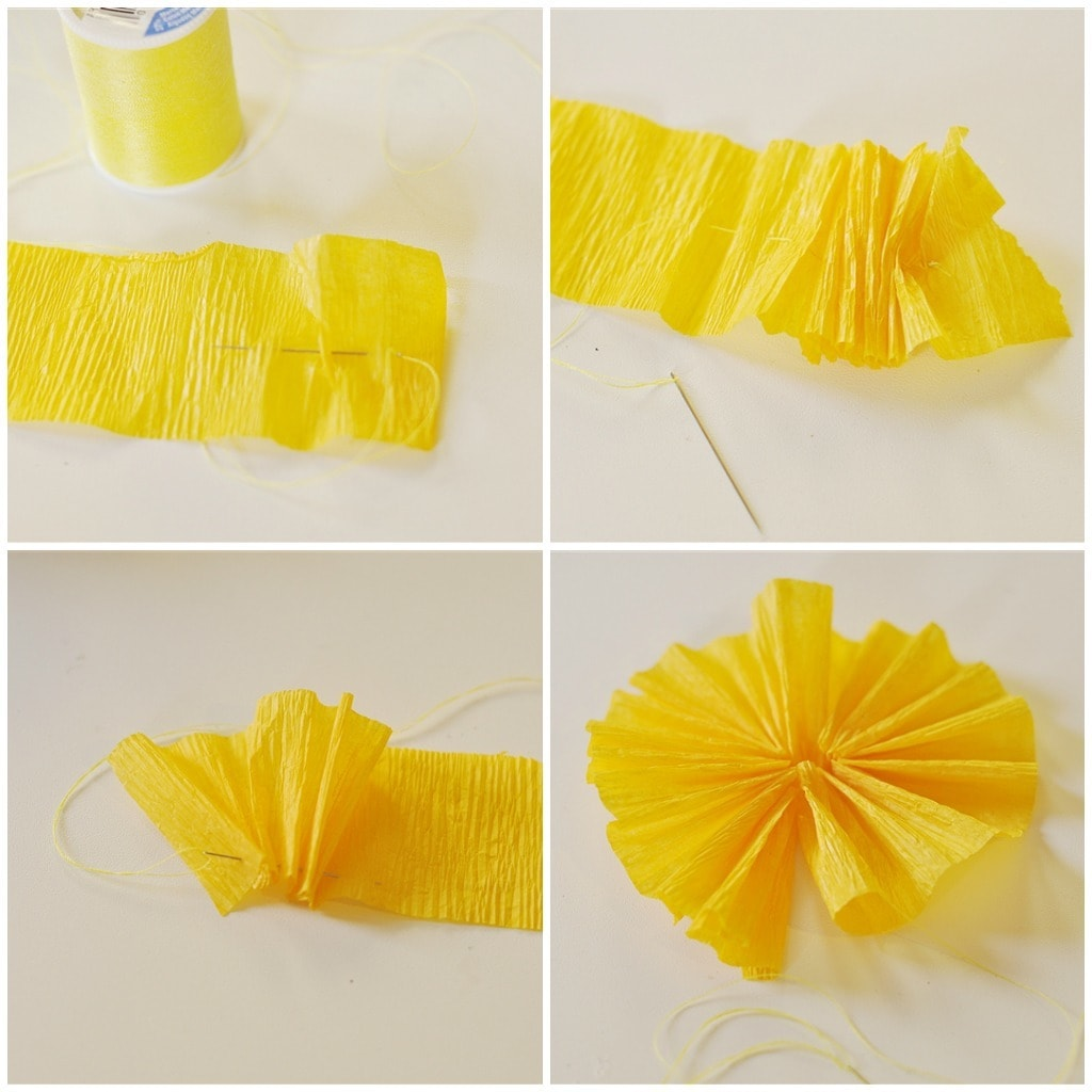 How to make rosettes out of paper - Save To Make A Crepe Paper Rosette