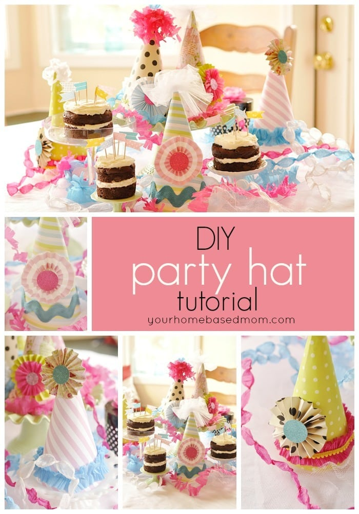 birthday party hat tutorial