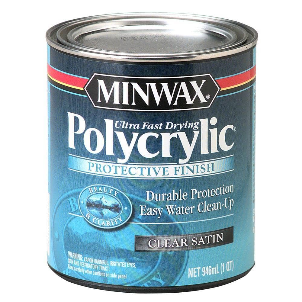 Minwax Polycrylic Spray Over Paint