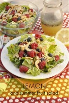Lemon and Summer Fruit Salad