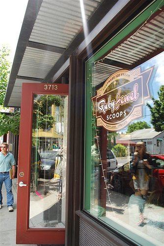 Ruby Jewel Ice Cream}Portland