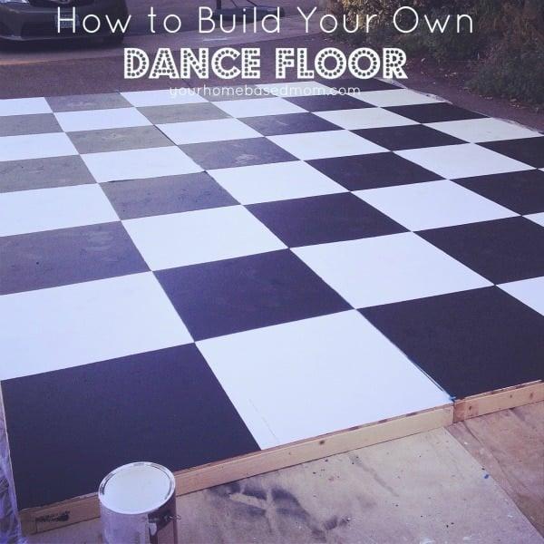 Backyard Party Line Dance : How to build your own dance floor