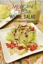Mexican Caesar Wedge Salad