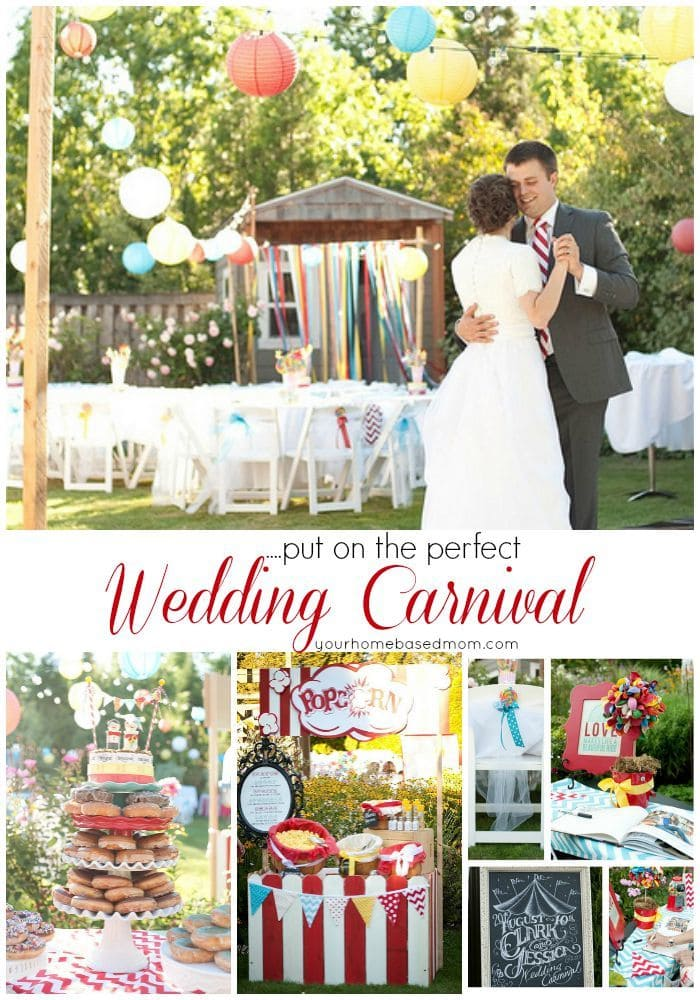 Put on the perfect Wedding Carnival - here are all the details.