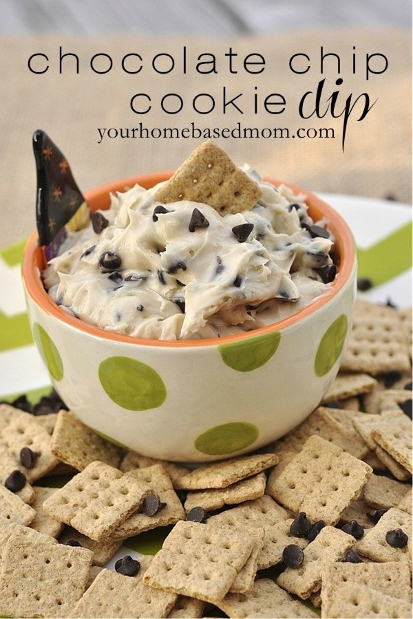 Chocolate Chip Cookie Dough Dip Your Homebased Mom