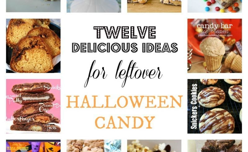 Twelve Delicious Ideas for Leftover Halloween Candy